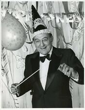 GUY LOMBARDO NEW YEAR'S EVE HAPPY NEW YEAR PORTRAIT ORIGINAL 1972 CBS TV PHOTO