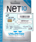 NET10 SIM CARD BRAND NEW, NEVER ACTIVATED FOR AT&T & UNLOCKED GSM PHONES