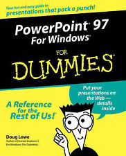 PowerPoint 97 For Windows For Dummies,GOOD Book