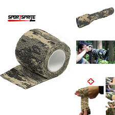 Military 1 Rolle Camo Ausdehnungs-Verband Camping Jagdtarnung Tape (4.5M) DE