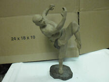 china ceramic kung fu karate instructor teacher fighter statue figurine