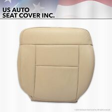 2004 Ford F150 Driver Bottom Replacement Vinyl Seat Cover Light Parchment Tan