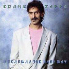 FRANK ZAPPA - BROADWAY THE HARD WAY  CD ROCK POP  NEW+