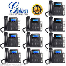Grandstream 10 Pack Lot Set GXP1628 Gigabit IP Phone 2 Line HD PoE VoIP 2 SIP
