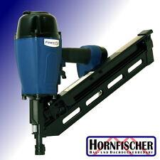 Druckluft-Nagler 50-100 mm für 34° Streifennägel papiergebunden PowerFix FN34100