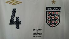RARE NWT Authentic Umbro England Gerrard player issue. Game shirt Germany large