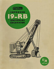 Ruston Bucyrus 19RB Shovel Dragline Sales Book