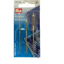 Prym Knitters Sewing Up Tapestry Wool Needles Knitting 3 Sizes - 124119
