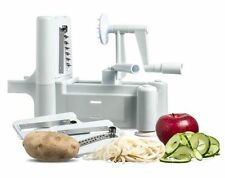 Spiralizer Vegetable & Fruit Spiral Julienne Shred Twister Slicer Cutter Peeler!