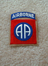 82nd Airborne Division (1 - piece) patch on Khaki
