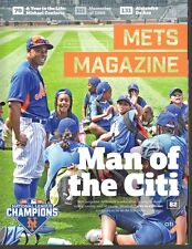 NEW YORK METS MAGAZINE 2016 ISSUE #2 CURTIS GRANDERSON MLB WORLD SERIES CHAMPS