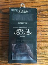 Frederick's Black Limited Edition Sheer Lace Mesh Stockings One Size NWT $16.50