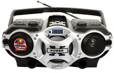 Supersonic SC-1395 Portable MP3 Speaker USB/SD/AUX Inputs and AM/FM Radio NEW