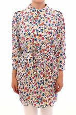 NWT $4600 DOLCE & GABBANA Floral Silk Logo Trench Coat Jacket s. IT42 / US8 / M
