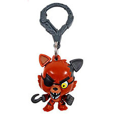 1x FNAF Five 5 Nights at Freddy's FOXY Clip Mini Figure Hanger Toy KIDS Gift