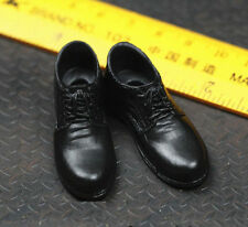 Toys City 1/6 Black Shoe for Custom Narrow Shoulder Body ZY Suit Hot Bruce Wayne