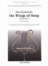 Mendelssohn - On Wings of Song Op. 34 No. 2