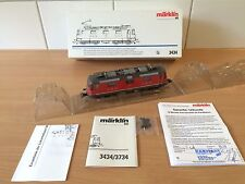 Märklin H0 3434 E-Lok BR Re 4/4 II der SBB / rot / Delta/Digital NEU in OVP !!