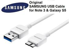 New Original OEM Samsung Galaxy Note3 S5 USB 3.0 Data Sync 5ft Cable White