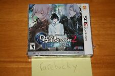 Shin Megami Tensei Devil Survivor 2 Record Breaker (3DS) NEW SEALED W/CD, RARE!