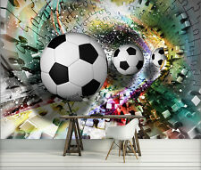 Fototapete Tapete Tapeten Fototapeten Poster FUSSBALL BALL 3D PUZZLE 3381 P4