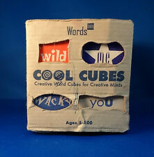 Words Cubed Cool Cubes Make Sentences Invent A Wild Saying Creative Minds Blocks