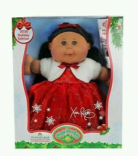 2016 Limited Edition Holiday Hispanic Cabbage Patch Kids Red Fur Dress