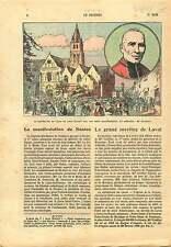 Meeting Catholique Cathédrale de la Sainte-Trinité de Laval 1925 ILLUSTRATION