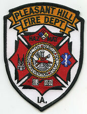 PLEASANT HILL IOWA IA Haz Mat FIRE PATCH