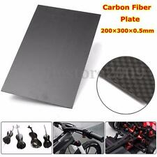 200×300×0.5mm With 100% Real Carbon Fiber plate panel sheet 3K plain weave YS