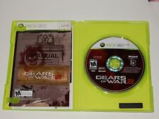 Gears of War 2 (Microsoft Xbox 360, 2008) **COMPLETE**