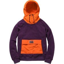 SUPREME Fleece Pullover Purple M box logo safari hoodie camp garçon F/W 13