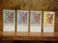 Vatican Sede Vacante 4 stamps march 1st 2013 Vatican Mail