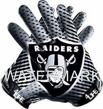 "Oakland Raiders 5.5""x6"" Auto CarTruck Window Or Wall Vinyl Glossy Decal Sticker"