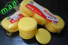 12 x WAX APPLICATOR PADS CAR DETAILING CAR CLEANING GLASS UK STOCK