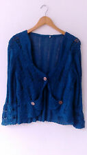 Cardigan Entretiempos JENNY´K Targa PARIS Size L (4) Made in France Quirky