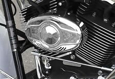 Custom Dynamics Mini Beast 4 Air Horn for Harley Davidson Models - Chrome Finish