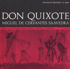Don Quixote: By Miguel De Cervantes Saavedra - Lester G. C (2009, CD NIEUW) CD-R