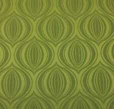 OUTDURA PUMPKIN PESTO GREEN GEOMETRIC OUTDOOR INDOOR MULTIUSE FABRIC BY YD