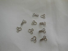 5 pairs metal hook and eye fasteners diy accessories Silver colour total L 2cm