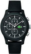 Men's Black Lacoste L1212 Chronograph Watch 2010821