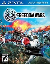 Freedom Wars [Sony PlayStation Vita, NTSC, Video Game, Action RPG] Brand NEW