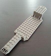 Lego Anhängerunterbau Aufleger Chassis dunkelgrau 7034 (30184)