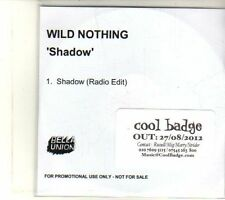 (DT717) Wild Nothing, Shadow - 2012 DJ CD