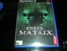 Enter the Matrix - PS2 - PlayStation 2 - Game - PAL Region - 15+