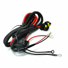 9005 9006 Xenon HID Conversion Kit Relay Wiring Harness Add On Fog Light LED DRL