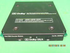 Dolby Cat No. 222A Two-channel Noise Reduction for CP500 Cinema Sound Processor