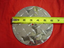 Aluminum Diamond Plate Circle 10'' 8'' 6'' 4'' 2'' Any size up to 10''