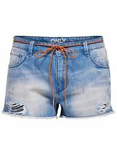 *595 NEU ONLY Damen Hose Jeans Hotpant GEMMA GIRLFRIEND DNM SHORTS BJ4855   W27