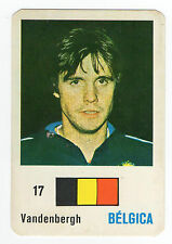 Football World Cup 1986 Portugese Pocket Calendar Erwin Vandenbergh Belgium